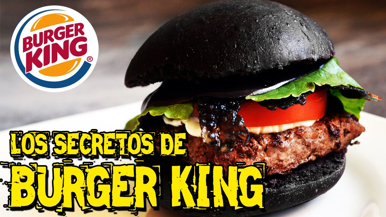 Los secretos de burger king hamburguesa negra youtube for Burger de