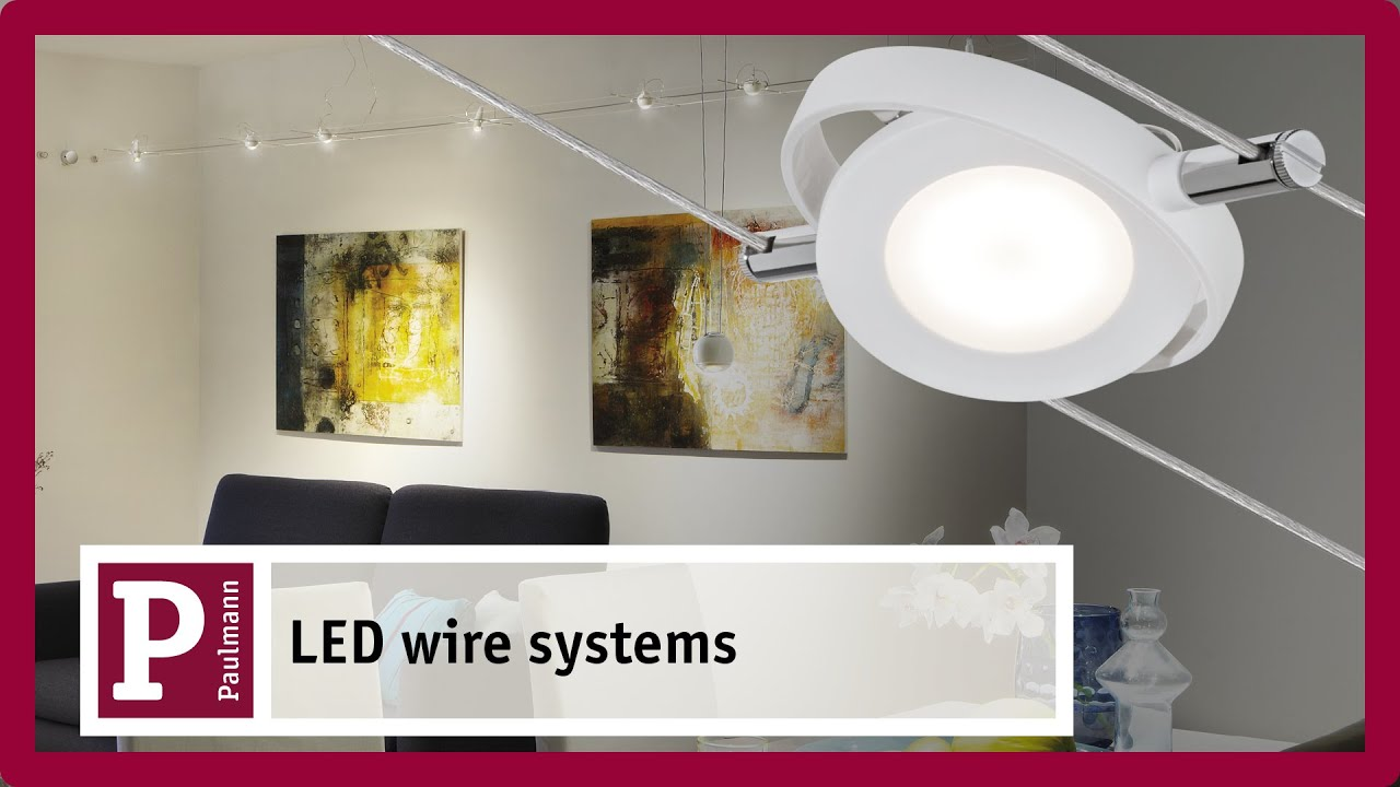 Led Wire System Flexible Lighting For
