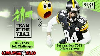 TOTY Offensive Players Solos Sets Packs in Madden 18 Ultimate Team Details MUT 18 Tips Explained