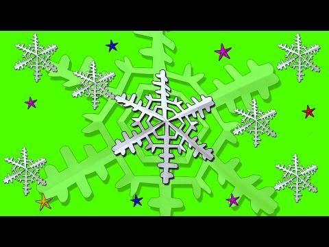 Snow Flakes for Christmas | DIY paper tutorial | Art and Craft for Winter