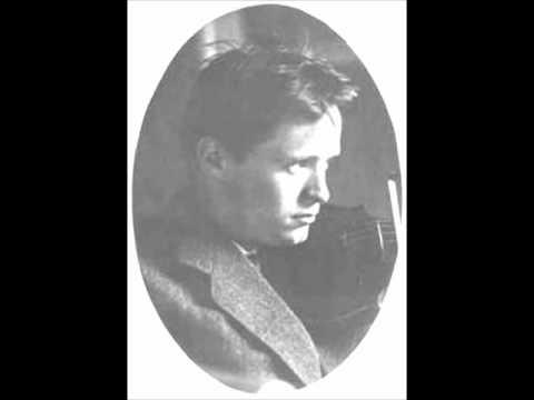 Adolf Busch - Bach's Sonata in G Major [FULL SONATA]