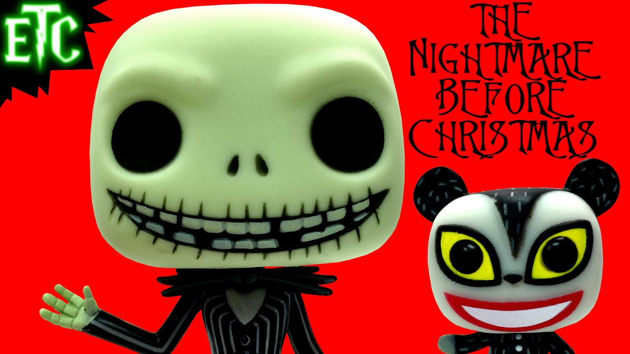 Nightmare Before Christmas Jack & Vampire Teddy NYCC Exclusive Funko ...