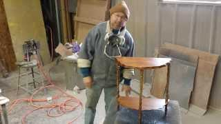 Refinishing A Side Table From Timeless Arts Refinishing Grand Rapids Mi 616 453 8309