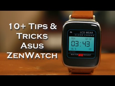 10+ Tips and Tricks for Asus ZenWatch (Android Wear Watch)