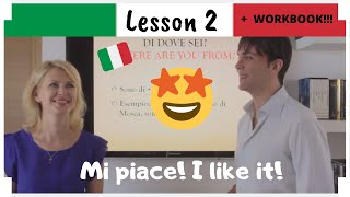 Italian in 30 days - LEZIONE 2 - LESSON 2 + PDF WORKBOOK