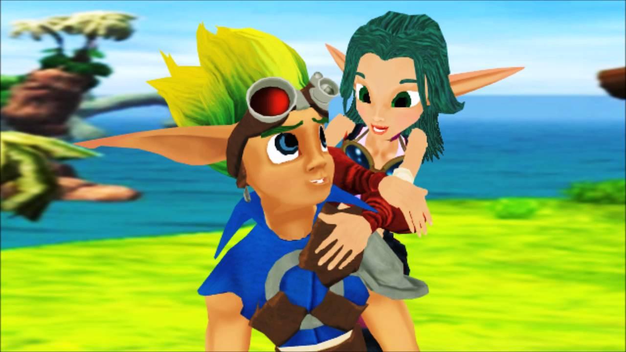 Jak And Keira Hagai Romances In Sandover Village Youtube