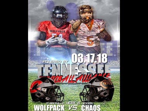 Clarksville Wolfpack vs Dickson Chaos