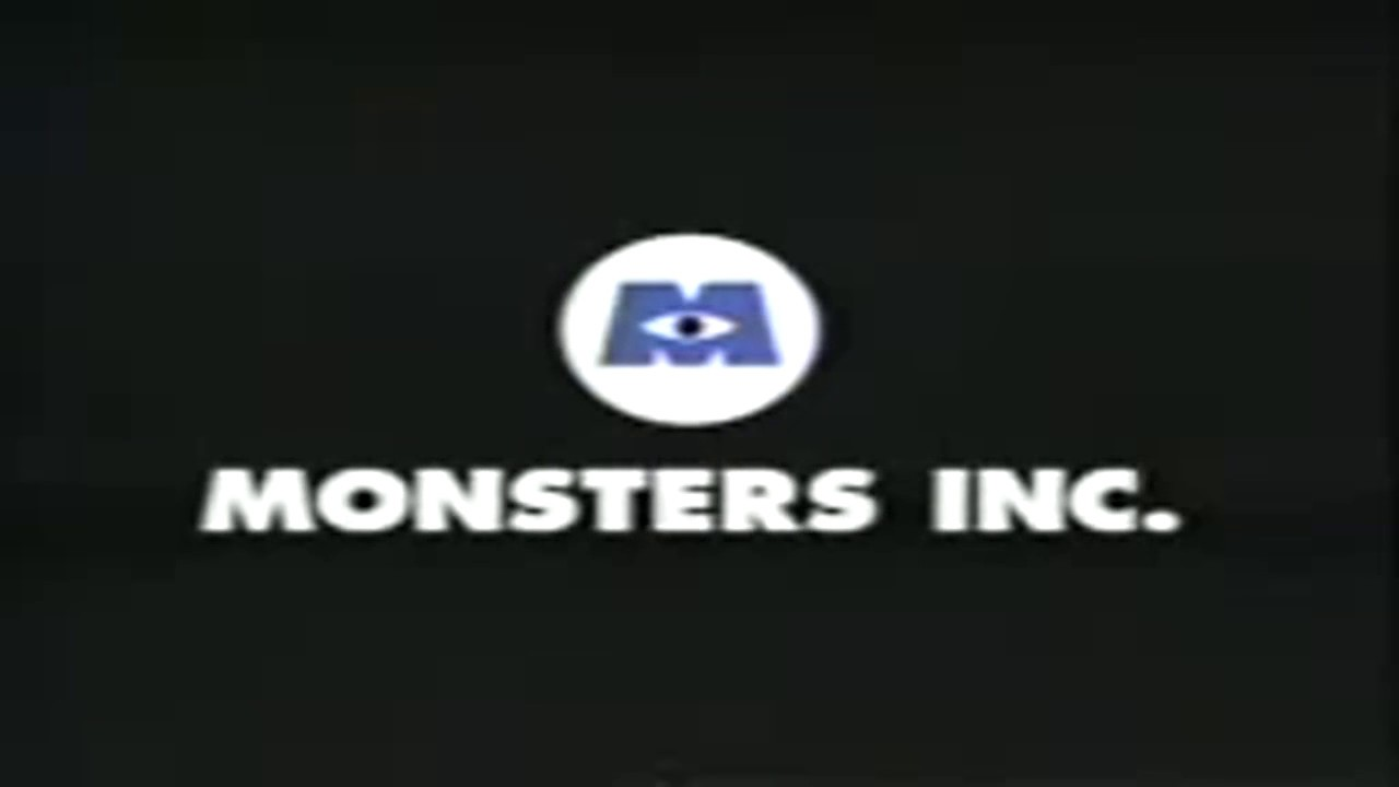 monsters inc trailer vhs youtube