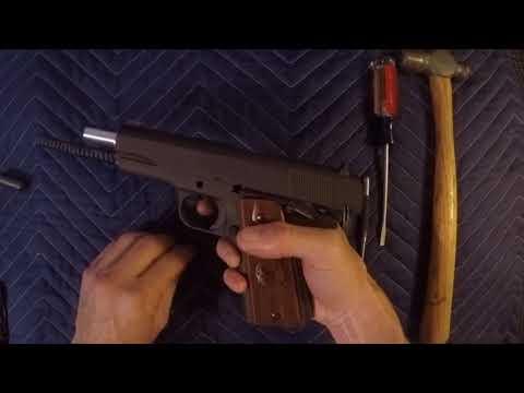 Springfield 1911 trigger job