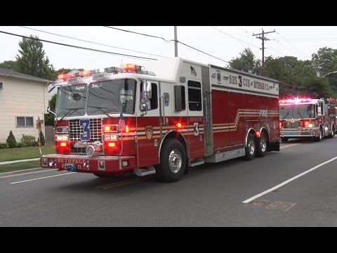 2016 Nassau County,NY Firemen's Parade  7/9/16  part 1 of 2
