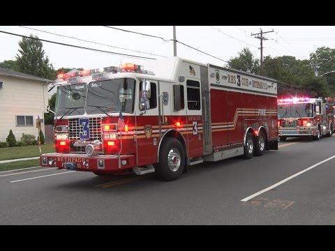2016 Nassau County,NY Firemen's Parade  7/9/16  part 1 of 2