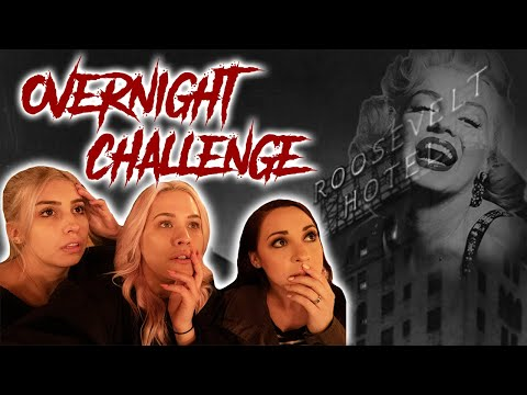 MARILYN MONROE'S GHOST CAUGHT ON VIDEO!! (HOLLYWOOD ROOSEVELT)