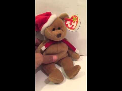 6e079b6304f Ty beanie baby 1997 Teddy - YouTube