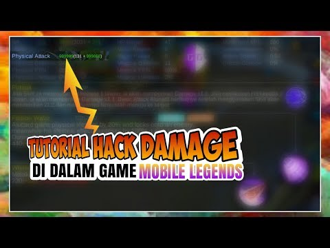 TUTORIAL! CARA UBAH DAMAGE DI IN GAME / DALAM GAME - MOBILE LEGENDS! 100% NO ROOT! thumbnail