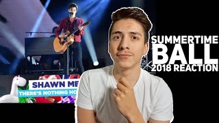 Shawn Mendes- There's Nothing Holdin Me Back Summertime Ball 2018 REACTION| E2 Reacts