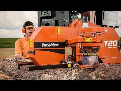 Scierie Wood-Mizer LT20 Mobile - Europe