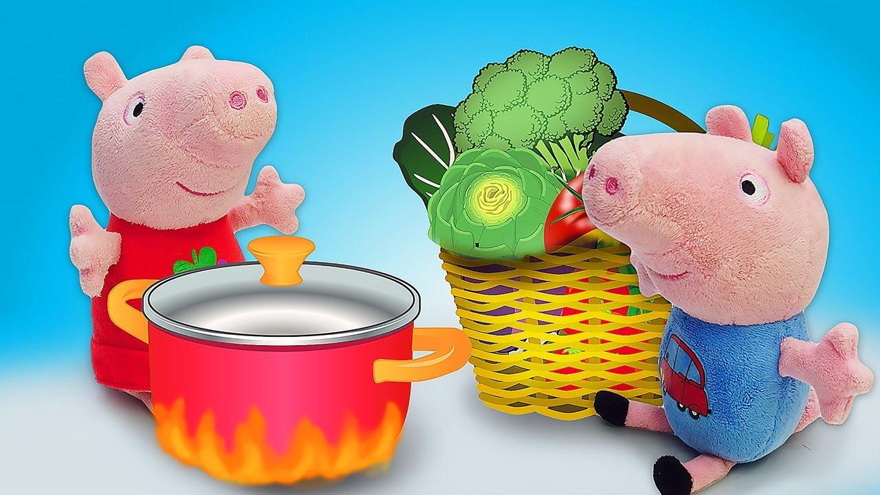Свинка Пеппа и Джордж нашли древнюю книгу рецептов ...