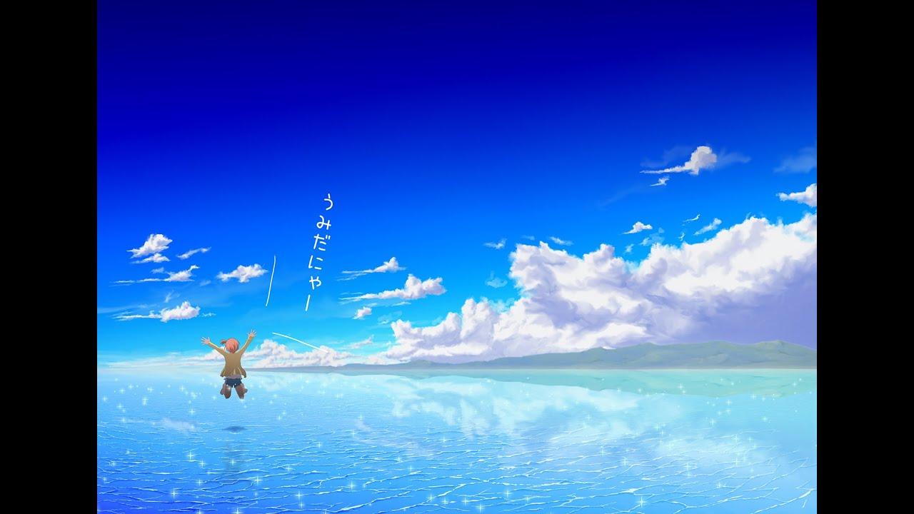 描いてみた】凛ちゃんと海【お絵かきメイキング】 - youtube