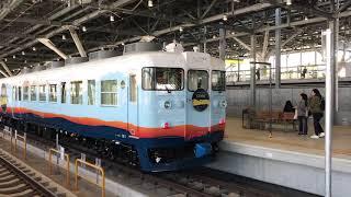 [列車発車]一万三千尺物語観光列車413系