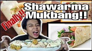 SHAWARMA MUKBANG  vlog#31 Pangasinan, Philippines