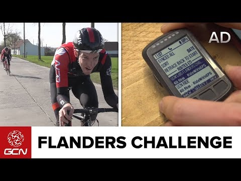 GCN Flanders Challenge - Wahoo Elemnt Bolt First Look