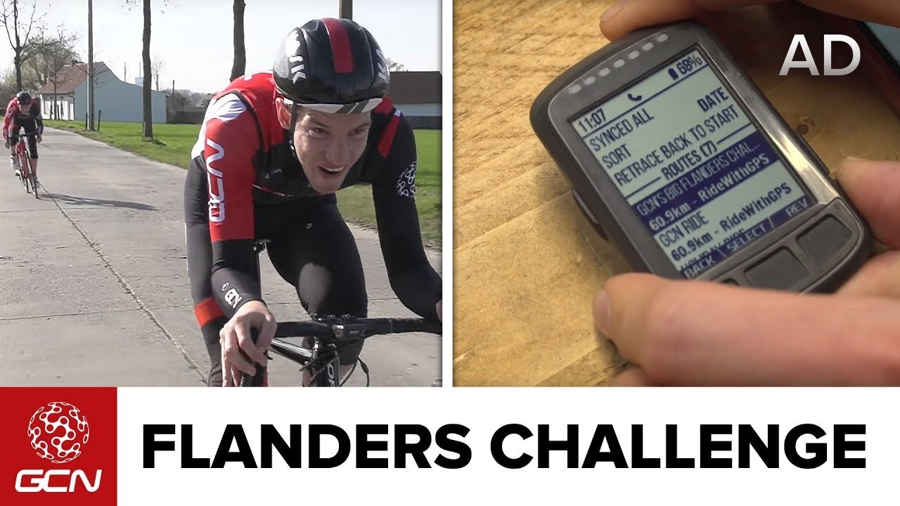 GCN Flanders Challenge - Wahoo Elemnt Bolt First Look. Global Cycling  Network 9d84a4c61