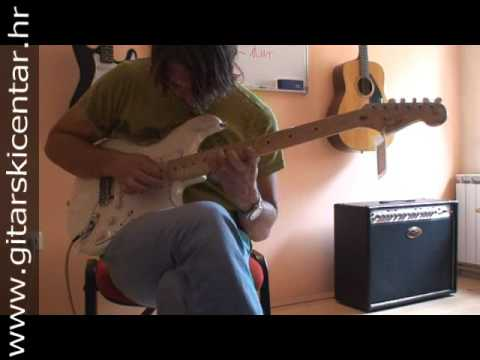 Gitarski Centar, SRV + shred impro