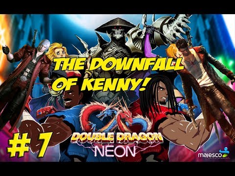 Retro Coach! Double Dragon Neon Part 7! The Downfall of Kenny - YoVideogames