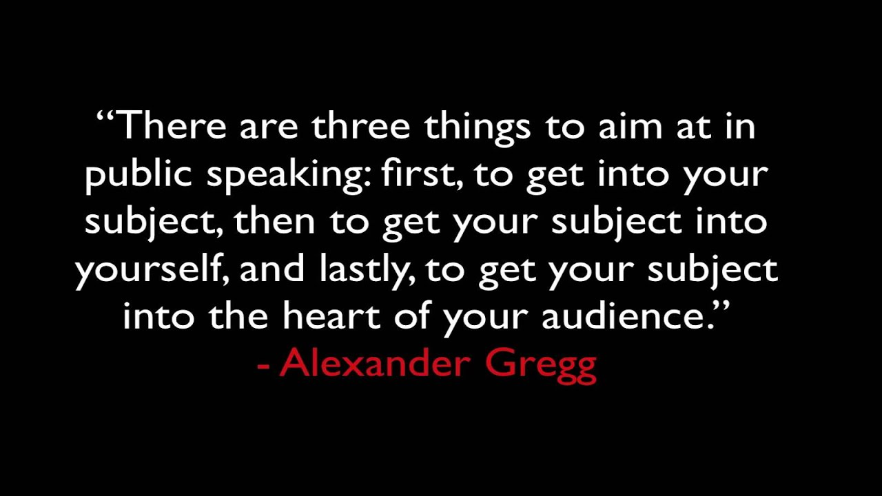 Quotes About Public Speaking Cool 25 Public Speaking And Presentation Quotes  Youtube