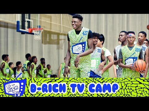Jarace Walker SHOWS OUT in Akron at The D Rich TV Camp - C ...