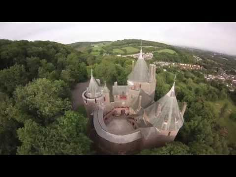 Castell Coch -South Wales - F450 flight