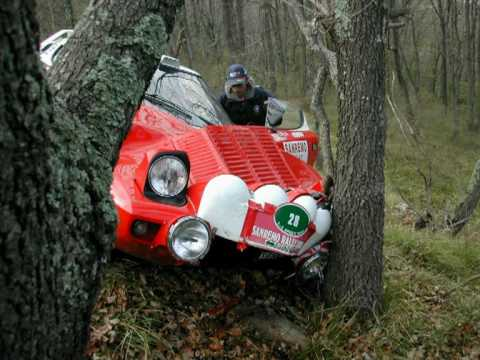 rally crash lancia stratos al rally sanremo youtube. Black Bedroom Furniture Sets. Home Design Ideas