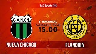 Nueva Chicago vs Flandria full match