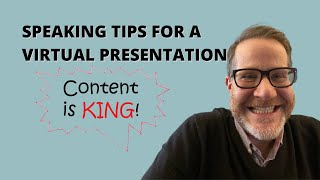 This Needs to be Your Focus for a Great Virtual Presentation