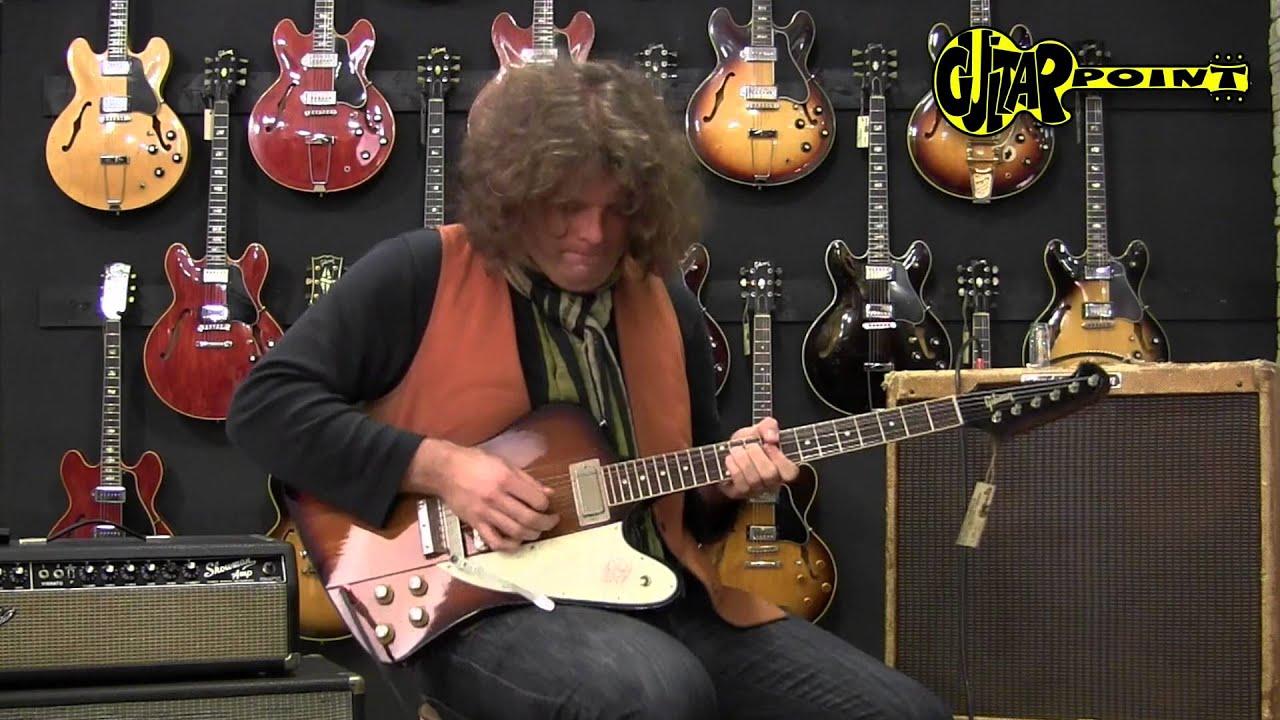 Jd Simo Playing A Gibson Firebird Iii
