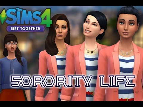 Let's Play the Sims 4- Sorority Life- Part 8- Eat All The Cake