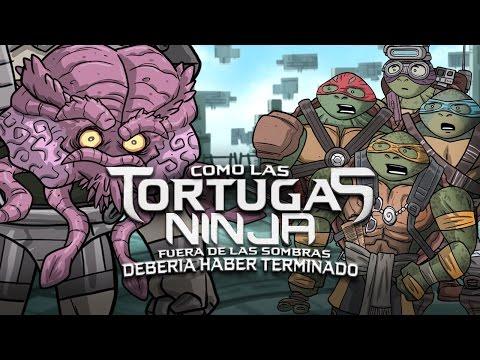 Como las Tortugas Ninja: Fuera de las Sombras Debería Haber Terminado