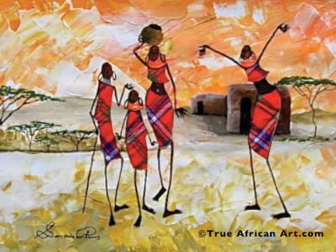 African Paintings Artist Sarah Shiundu