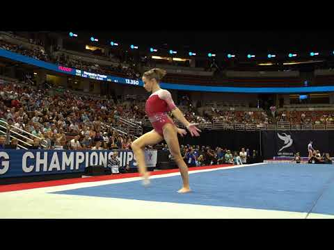 Ragan Smith - Floor Exercise - 2017 P&G Championships - Senior Women - Day 1