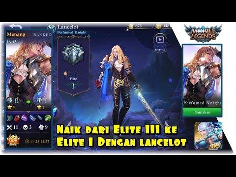 Push rank ke Elite II dan I sekaligus dengan lancelot!  ( ML Part 19 )