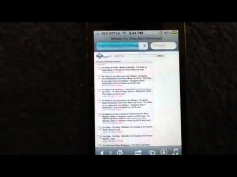 How To Get Free Music On IPhone 3,3gs,4 Ipad 1,2,3 Ipod Tou