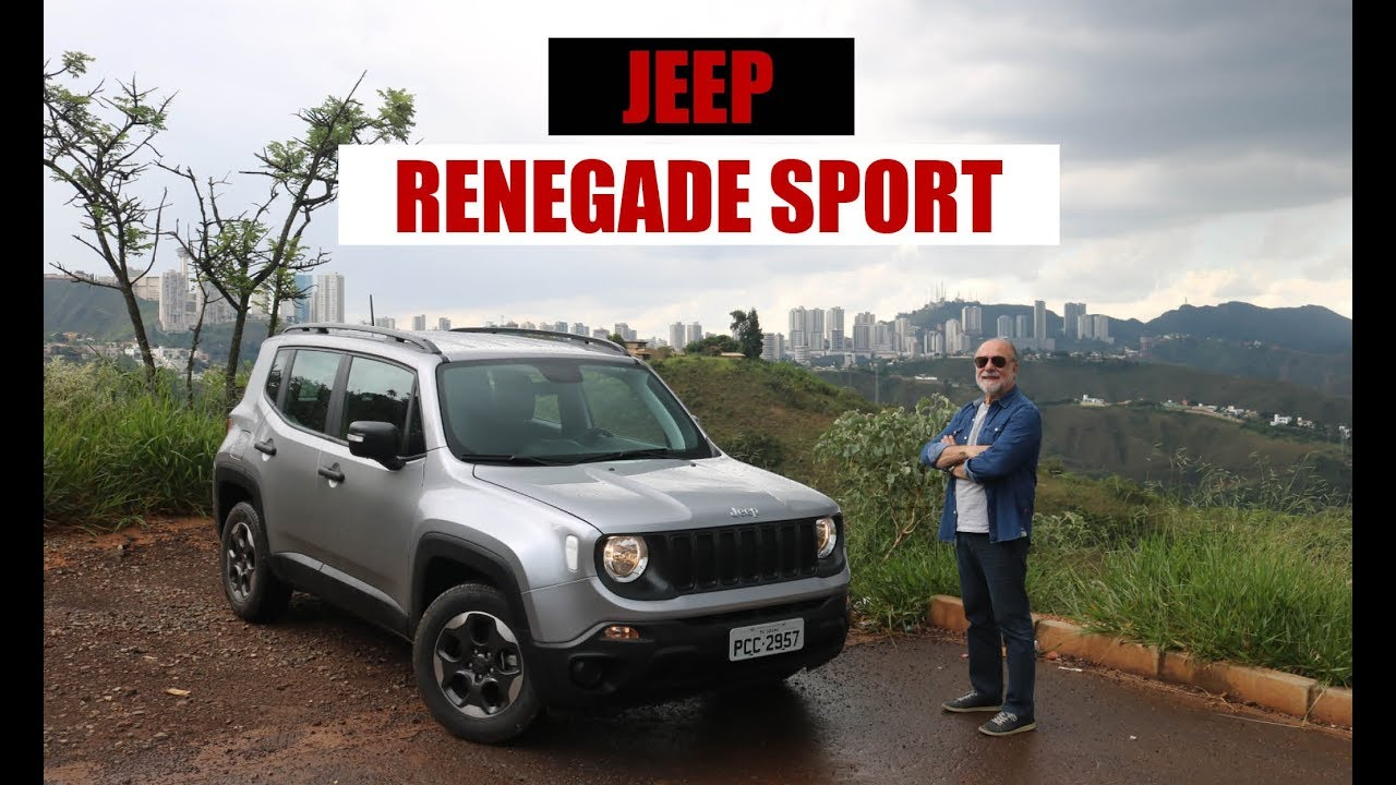 Jeep Renegade Sport 1 8 Mt 2019 Teste Do Emilio Camanzi Youtube