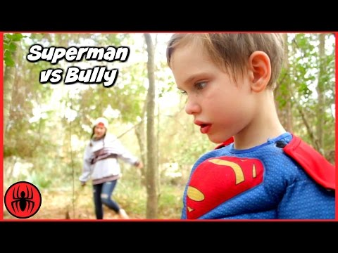 Thumbnail: Superman vs Bully Girls vs Boys Toys w Cleaning Lady's Dream in real life Superhero Kids