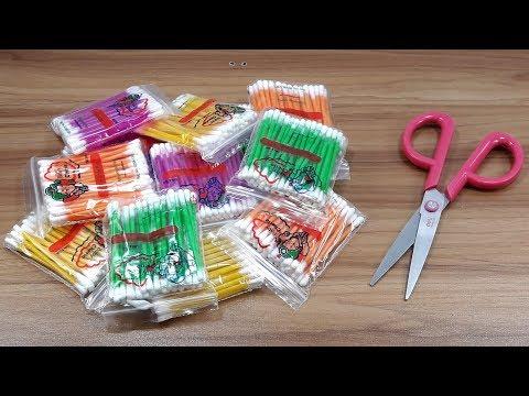 Best craft with cotton buds | Best craft idea | DIY arts and crafts | DIY cotton buds
