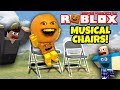 Roblox: MUSICAL CHAIRS with FARTS! [Annoying Orange Plays]