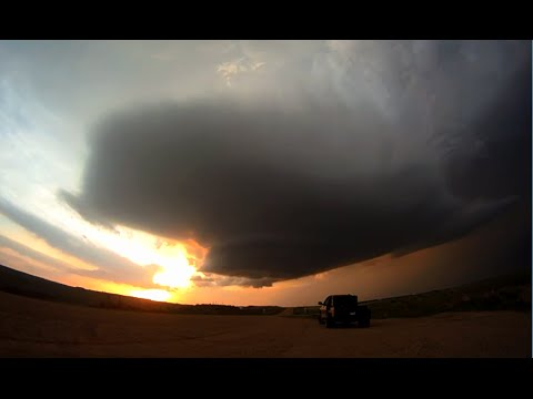 LP Supercell in South Dakota on May 24, 2013