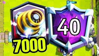 Фантастические 7000 кубков со спарки! / Clash Royale