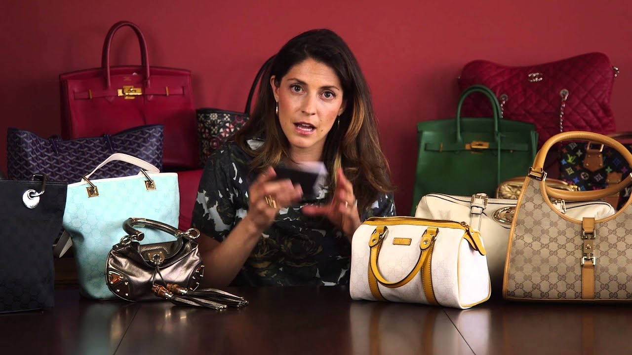 e65f33238 How to Spot a Fake Gucci Bag: Part 3 - YouTube