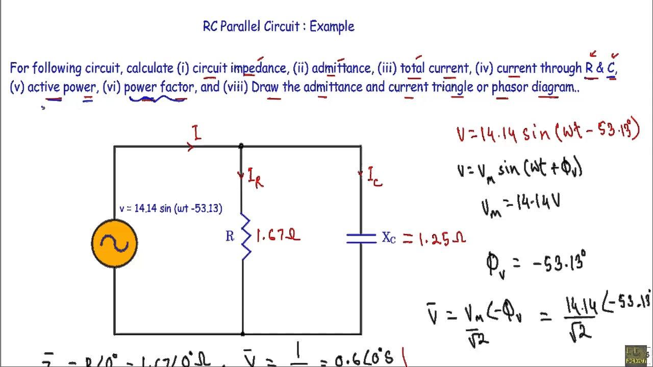 medium resolution of rc parallel circuit ac example