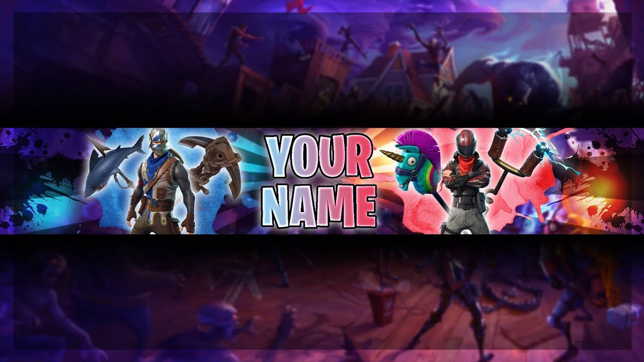 free fortnite youtube banner template fortnite channel art photoshop cs6 youtube. Black Bedroom Furniture Sets. Home Design Ideas
